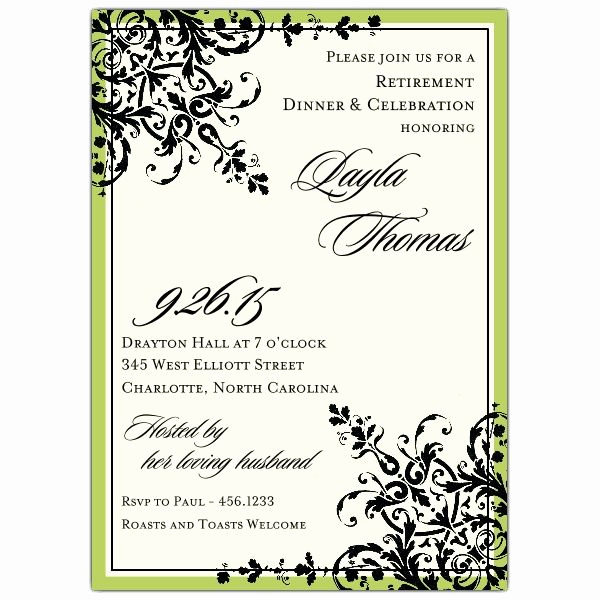Retirement Party Invitation Templates Unique Retirement Party Invitations Templates