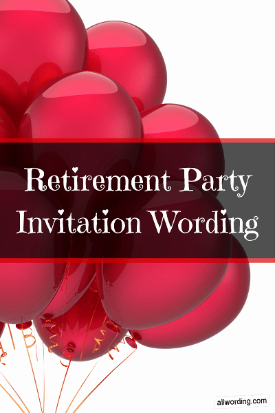 Retirement Party Invitation Wording Funny Beautiful Retirement Party Invitation Wording Allwording