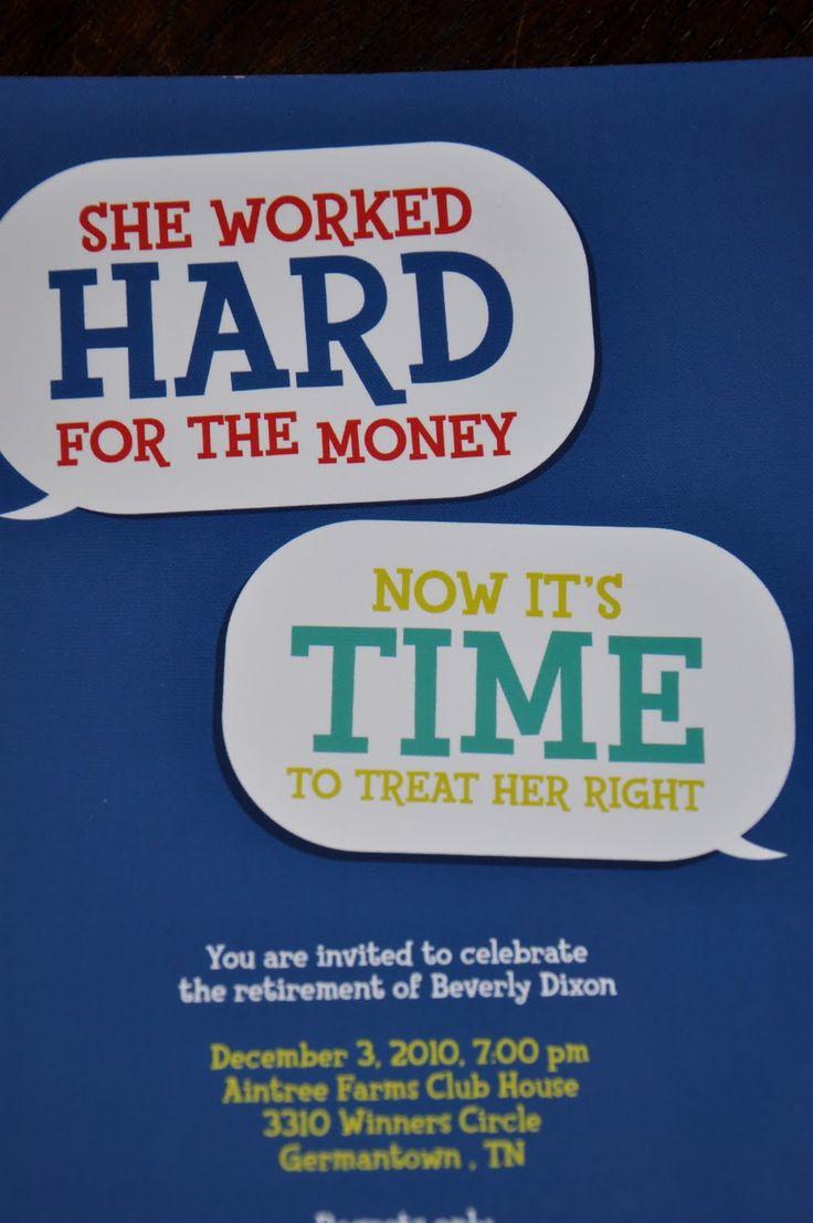 Retirement Party Invitation Wording Funny Luxury Retirement Party Invitations Templates