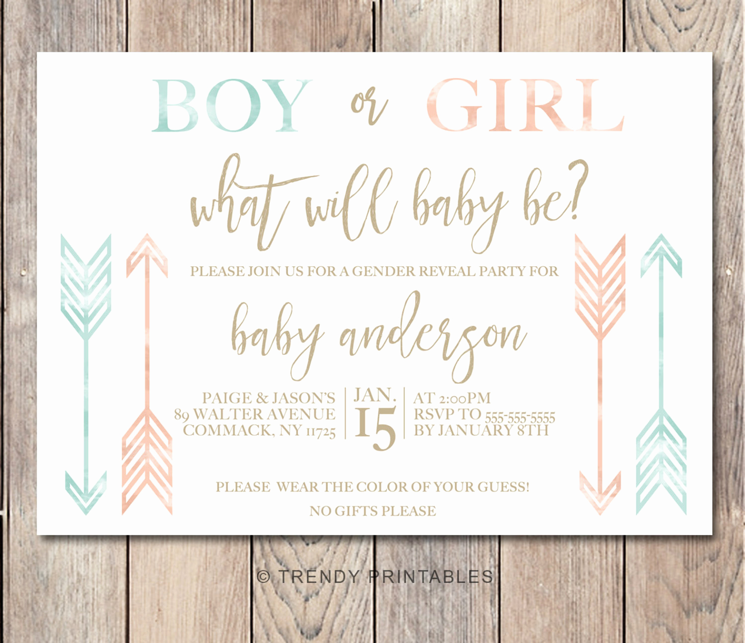 Reveal Party Invitation Ideas Fresh Gender Reveal Invitation Gender Reveal Party Gender Reveal