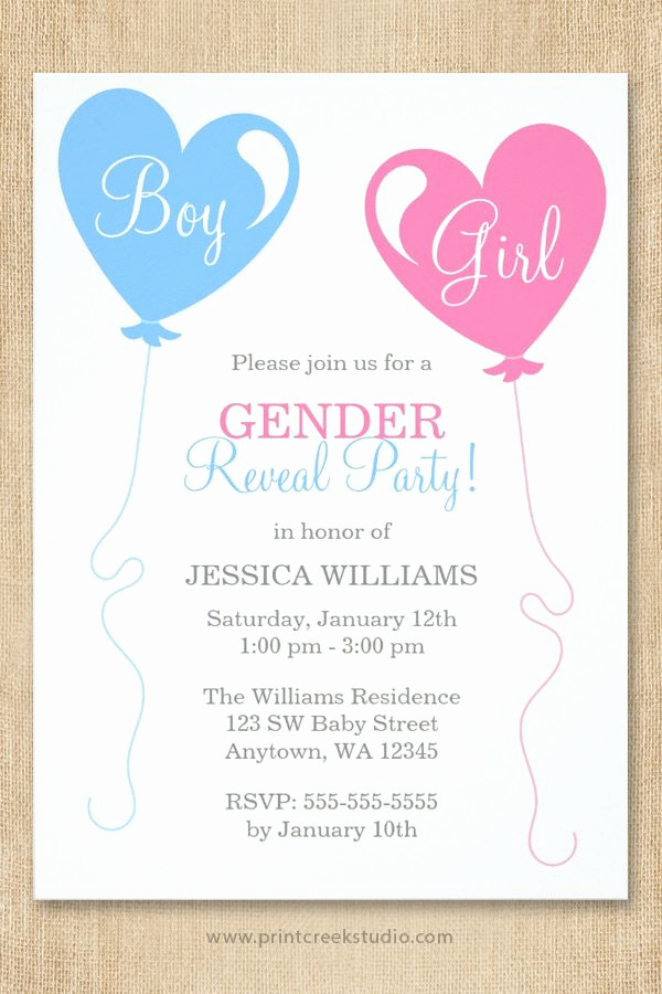 Reveal Party Invitation Ideas Lovely Best 25 Gender Reveal Invitations Ideas On Pinterest