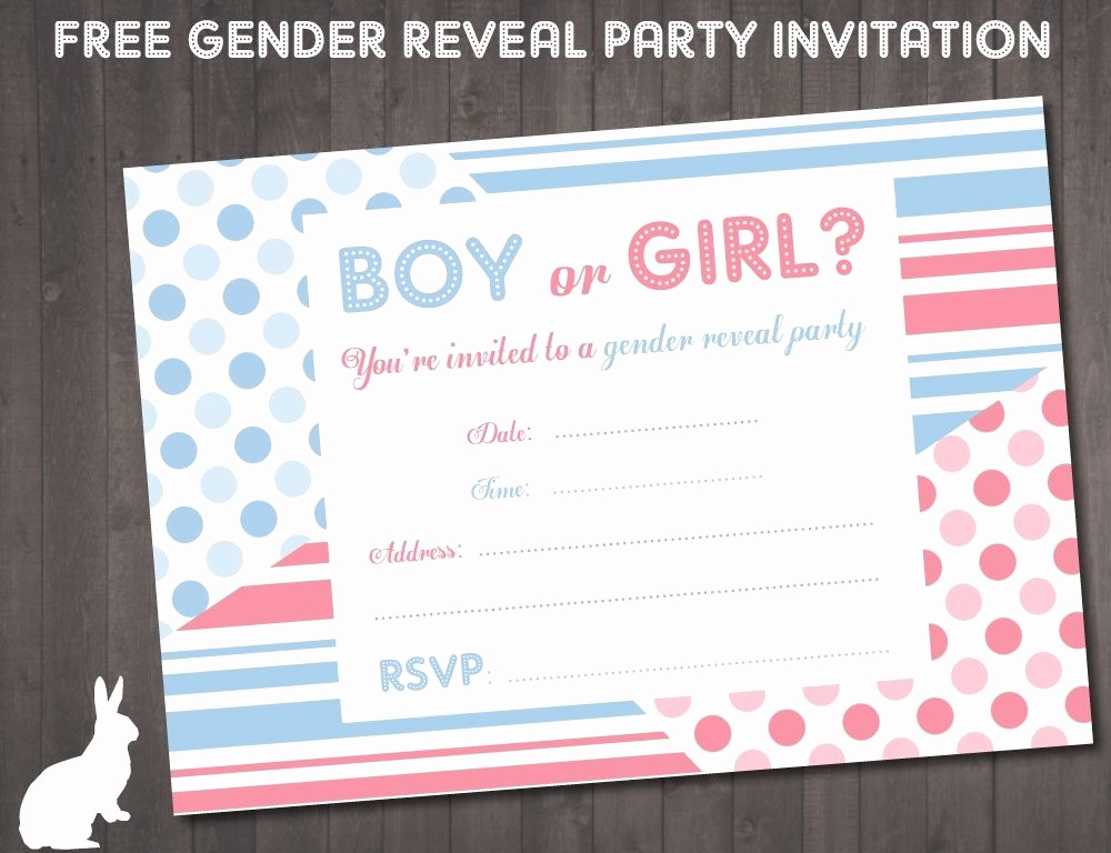 Reveal Party Invitation Ideas Luxury Gender Reveal Invitations Free Printable Cobypic