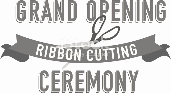 Ribbon Cutting Invitation Templates Awesome Ribbon Cutting Design Wordmark Design Template Stock