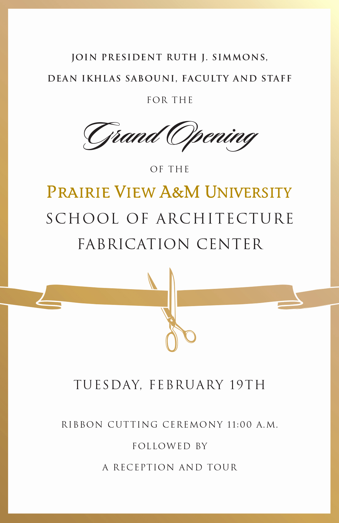 Ribbon Cutting Invitation Templates Beautiful Fabrication Center Ribbon Cutting Ceremony
