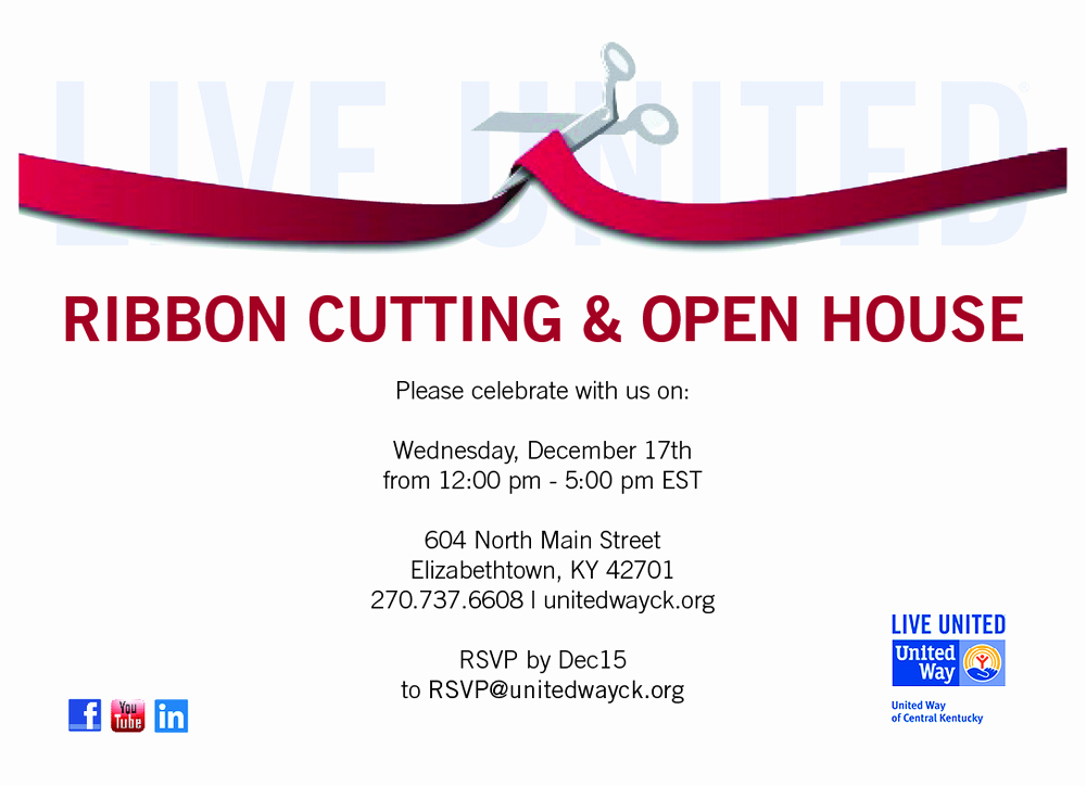 Ribbon Cutting Invitation Templates Elegant Portfolio — Rachel Maryjane Watkins