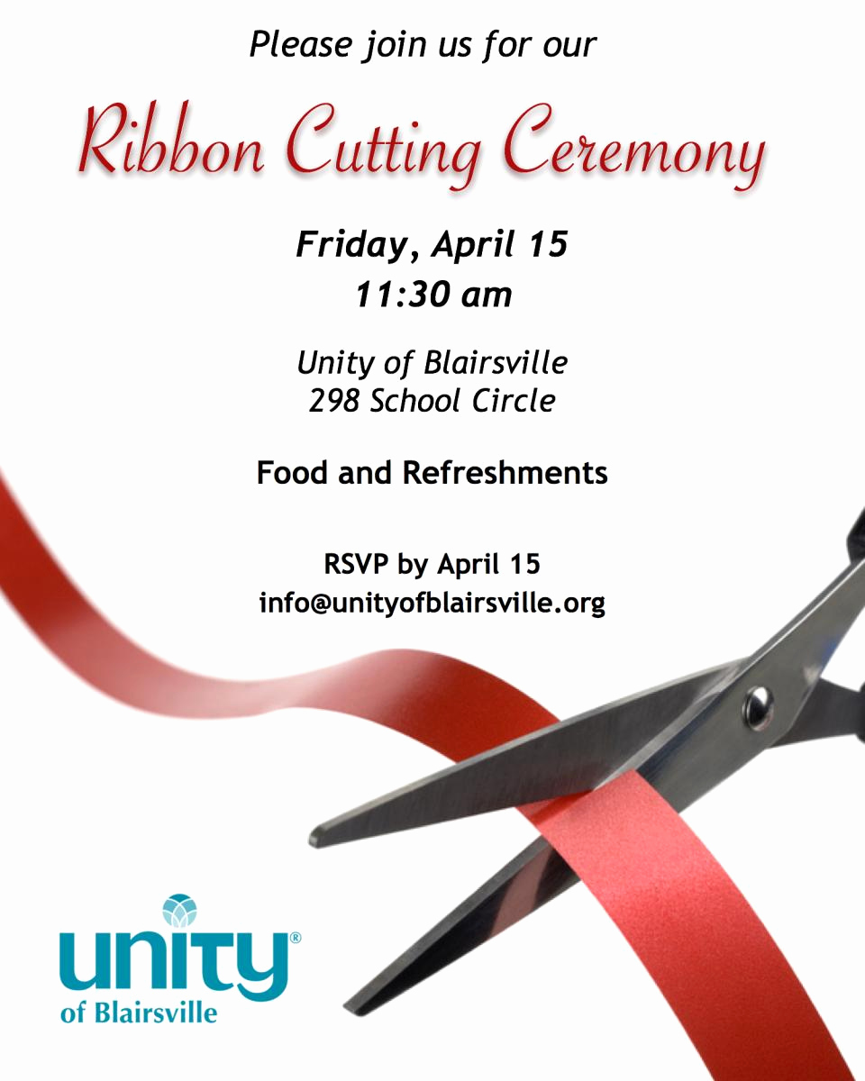 Ribbon Cutting Invitation Templates Elegant Ribbon Cutting Ceremony