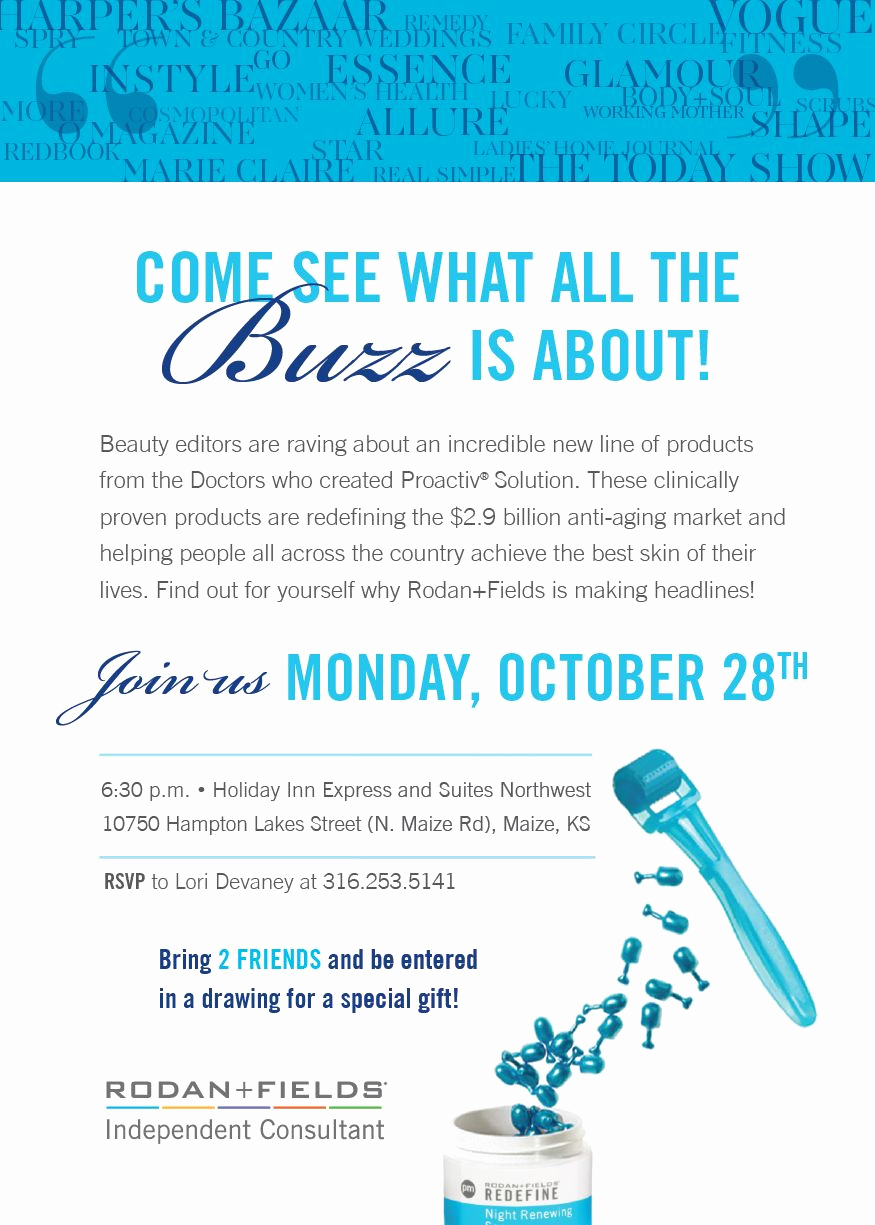 Rodan and Fields Bbl Invitation Fresh E Join Me as I Launch My Rodan Fields Business On