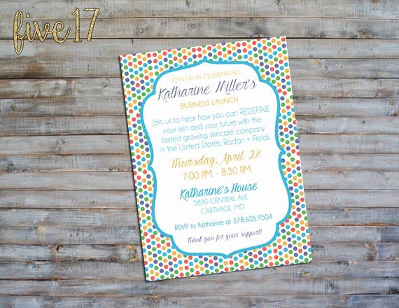Rodan and Fields Bbl Invitation Lovely Rodan and Fields Invitation Big Business Launch Bbl by