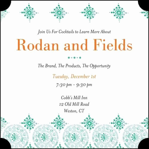 Rodan and Fields Bbl Invitation Unique 111 Best Images About R F Invitations Bbl On Pinterest