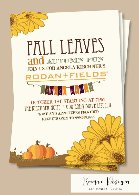 Rodan and Fields event Invitation Awesome Rodan and Fields Big Business Launch Party Bbl by