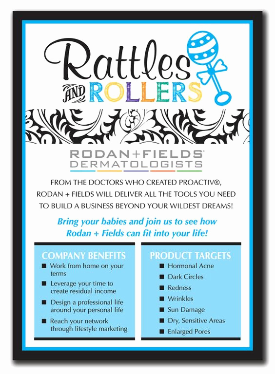 Rodan and Fields event Invitation Best Of Rodan and Fields Rodan & Fields Pinterest