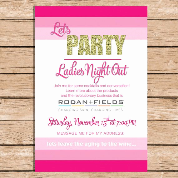 Rodan and Fields event Invitation Elegant 17 Best Images About R F Invites On Pinterest