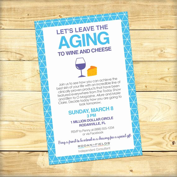 Rodan and Fields event Invitation Unique 10 Best Images About R F Invites On Pinterest