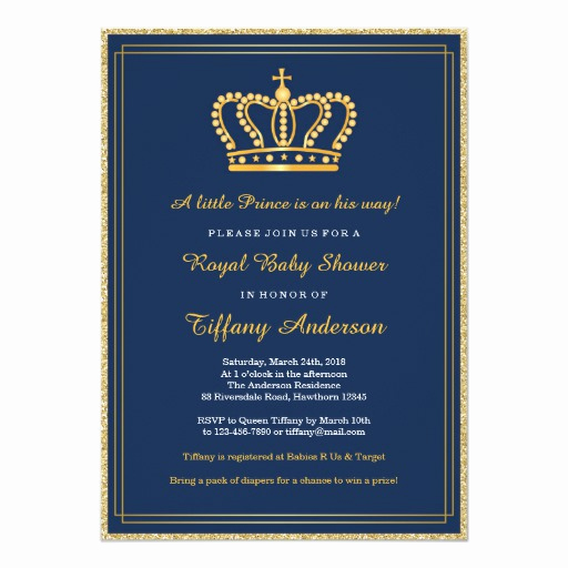 Royal Baby Shower Invitation Fresh Royal Baby Shower Invitation