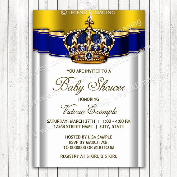 Royal Baby Shower Invitation Inspirational 1000 Ideas About Royal Baby Showers On Pinterest