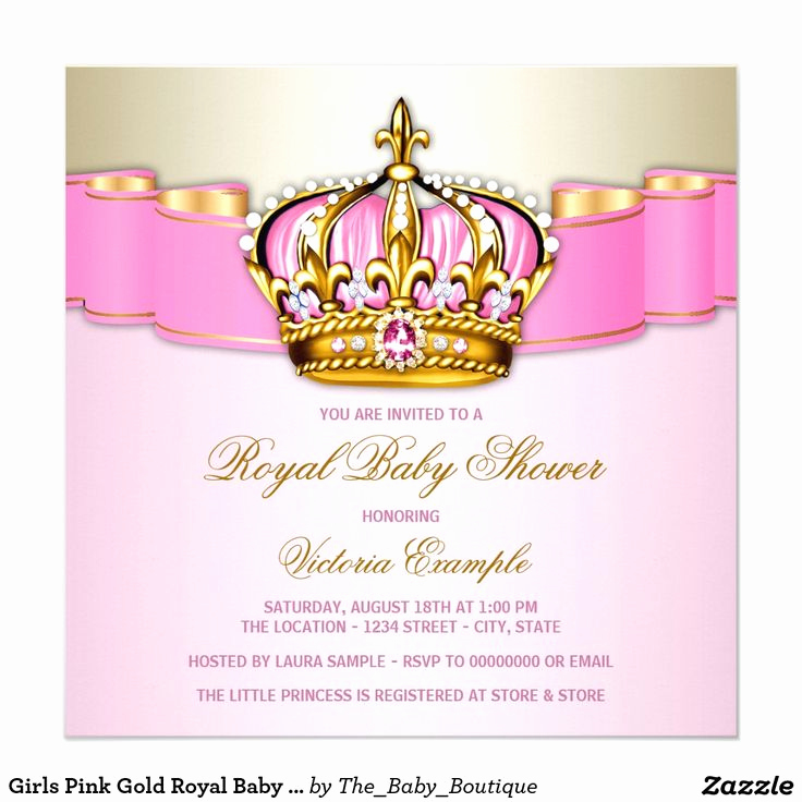 Royal Baby Shower Invitation New 135 Best Images About Princess Baby Shower Invitations