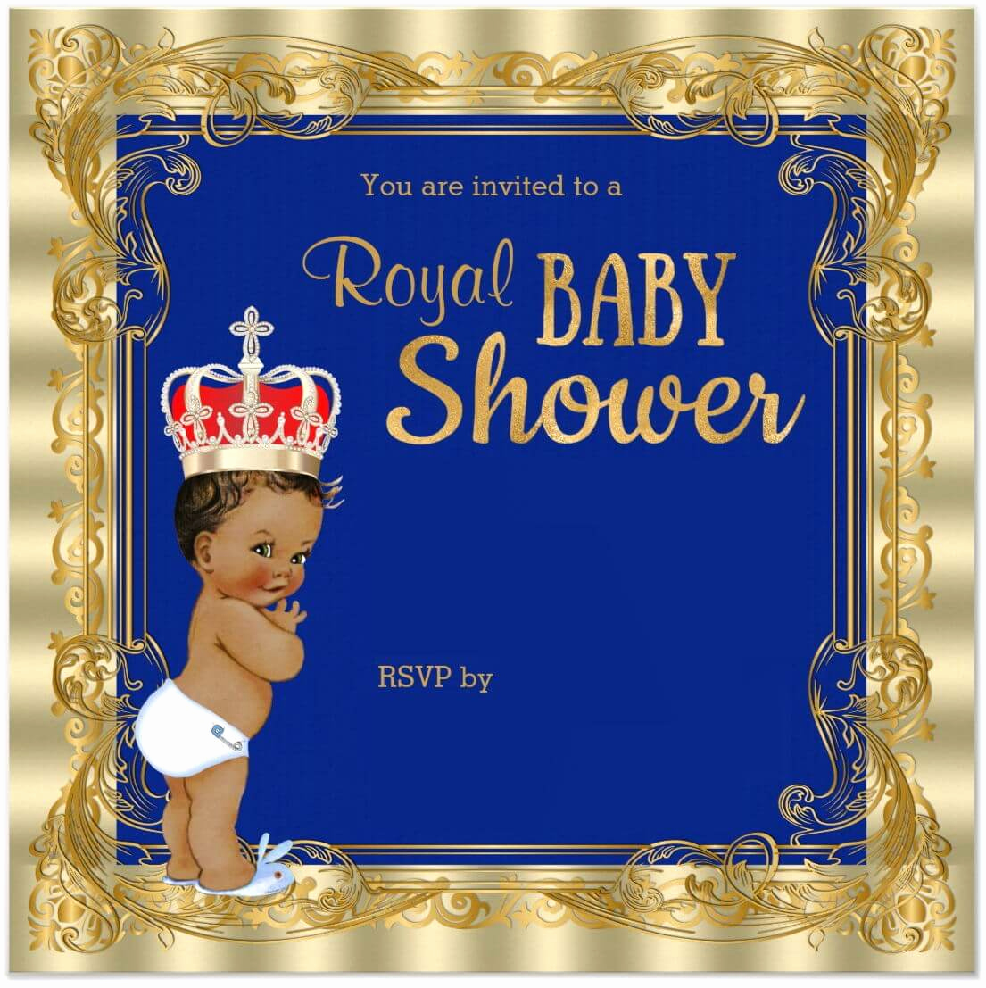 Royal Baby Shower Invitation Templates Beautiful Royal Baby Shower Printable Invitations