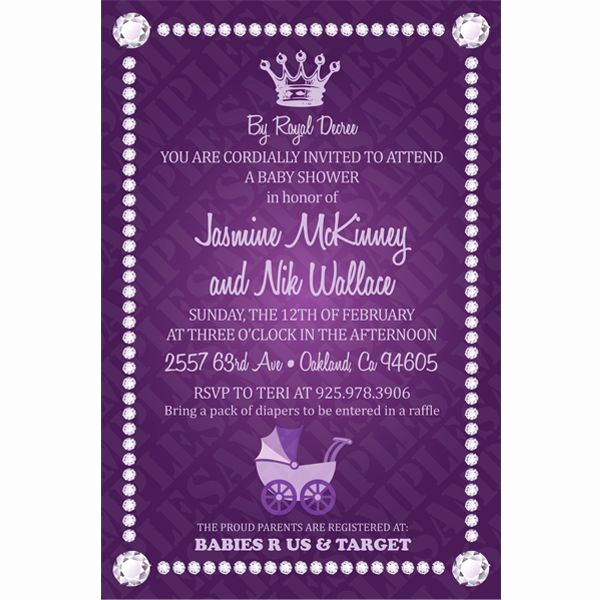 Royal Baby Shower Invitation Templates Best Of 7 Best Images About Shower On Pinterest