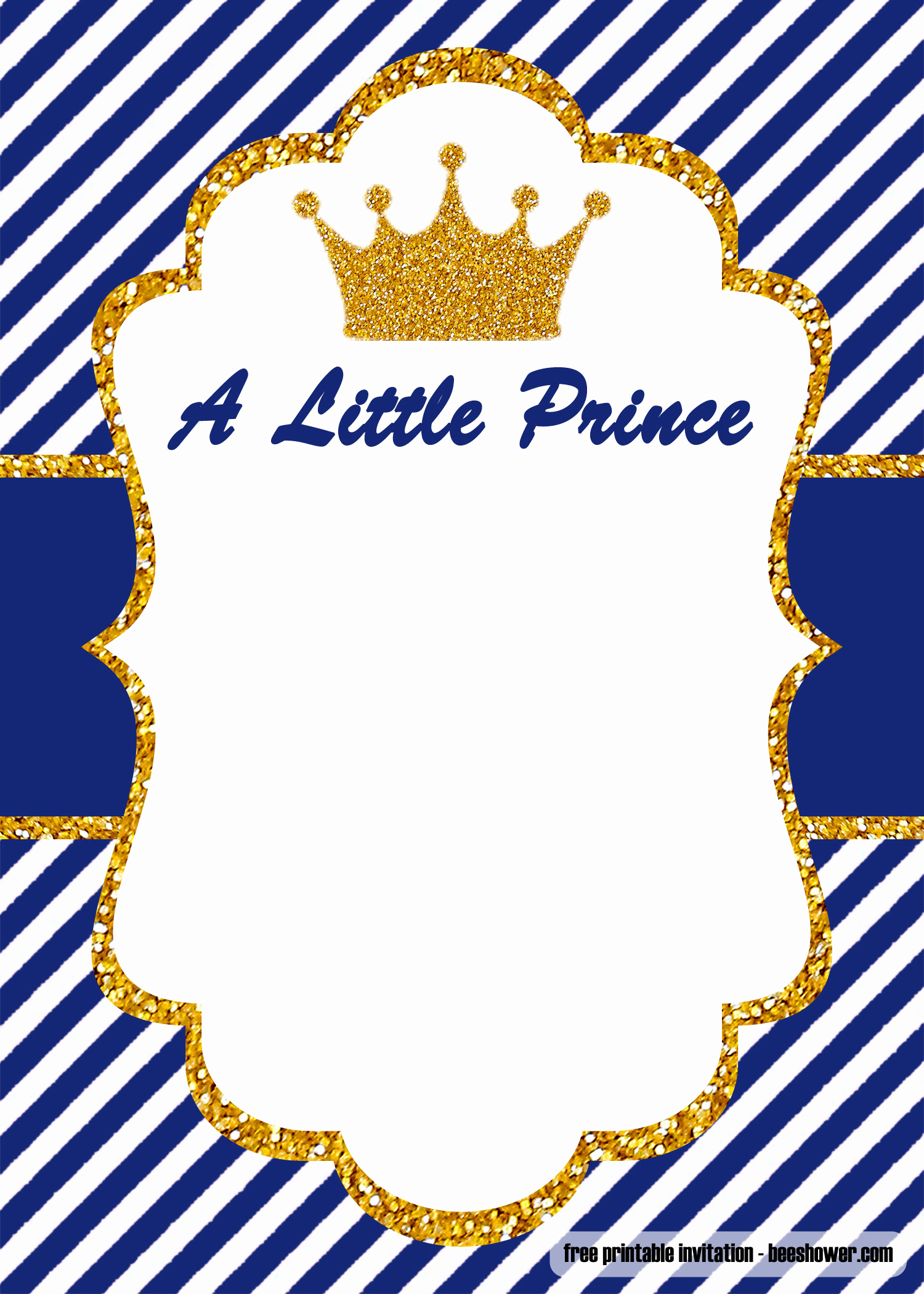 Royal Baby Shower Invitation Templates Best Of Free Prince Baby Shower Invitations Templates