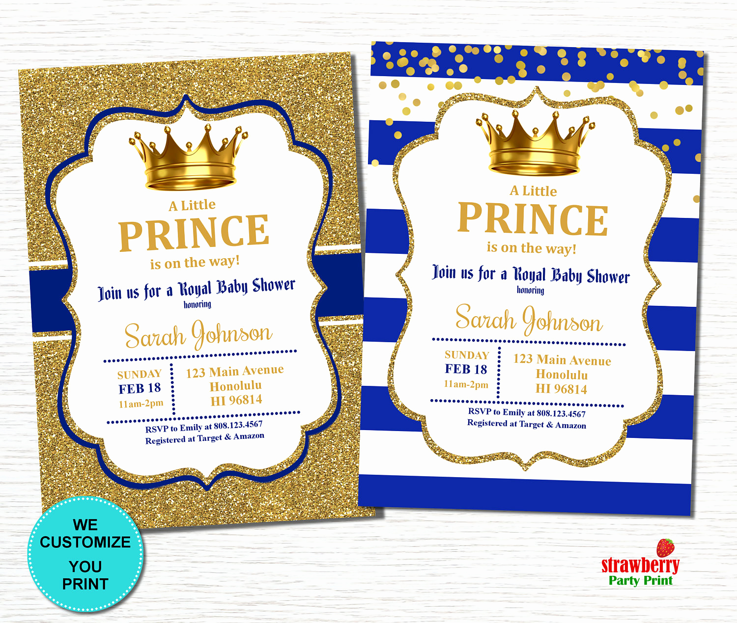 Royal Baby Shower Invitation Unique Prince Baby Shower Invitation Royal Baby Shower Invitation