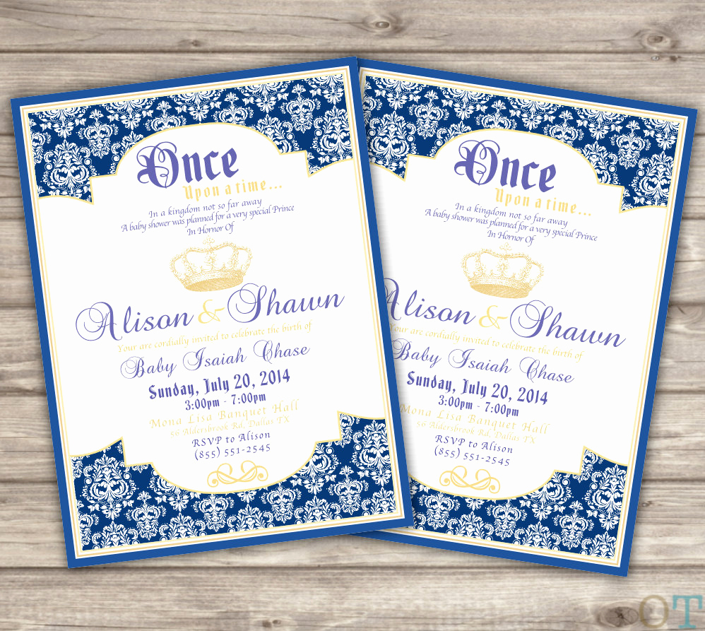 Royal Baby Shower Invitation Wording Elegant Unavailable Listing On Etsy