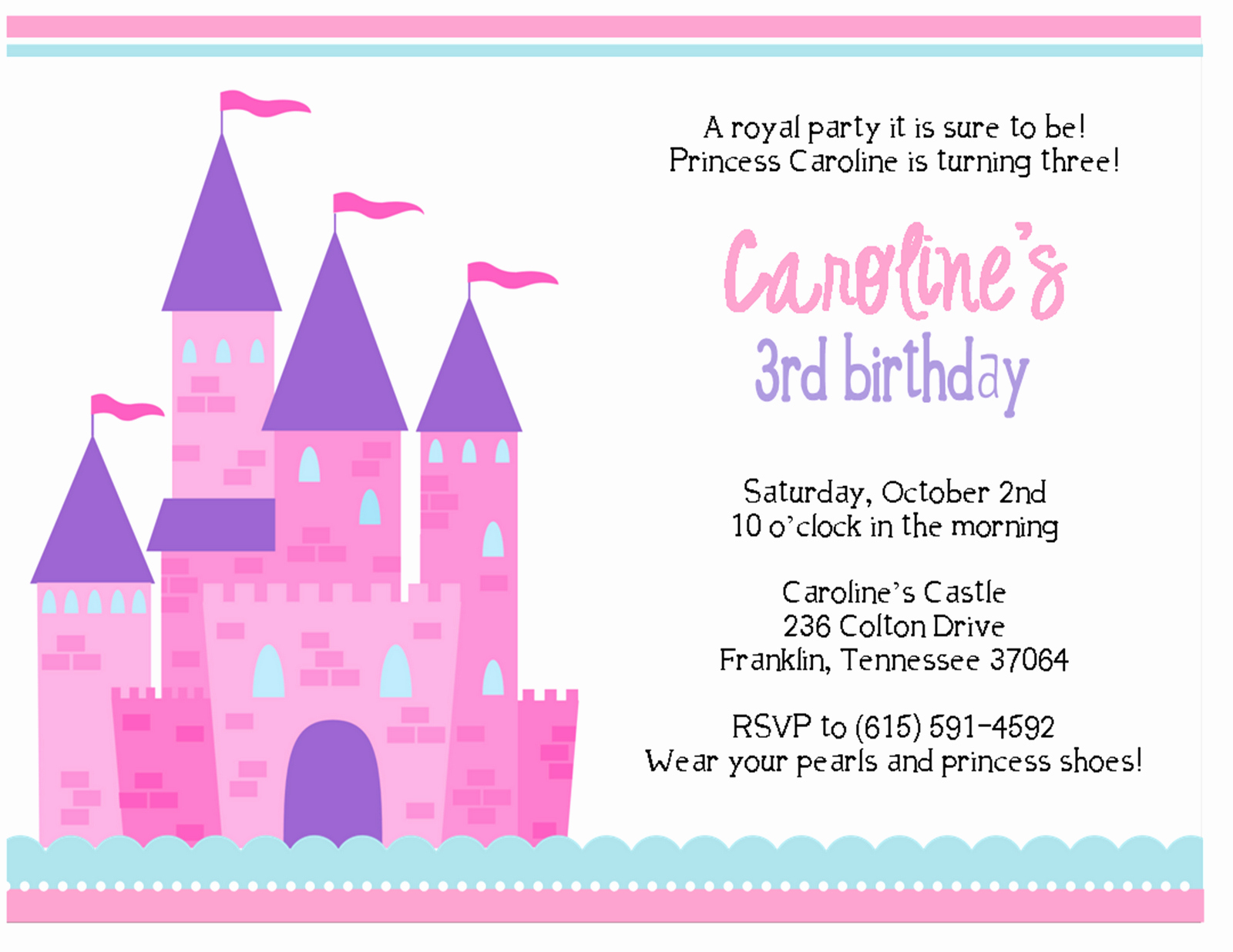 Royal Ball Invitation Template Free Beautiful the Sweet Peach Paperie Royal Princess Parties