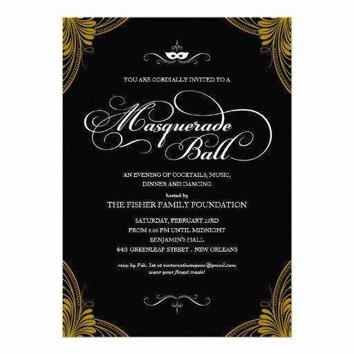Royal Ball Invitation Template Free Elegant formal Ball Invitation Wording