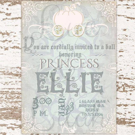 Royal Ball Invitation Wording Awesome Cinderella Party Invitation Cinderella S Royal Ball