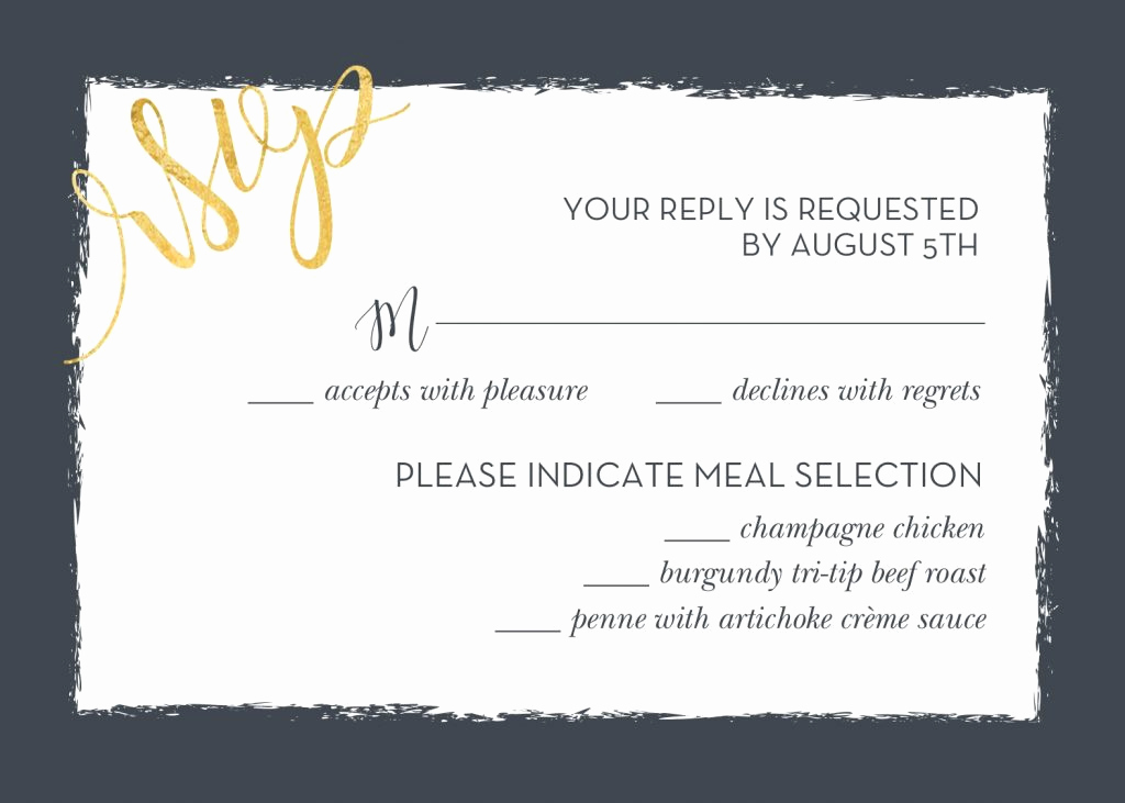 Rsvp Wedding Invitation Wording Beautiful Wedding Rsvp Wording and Card Etiquette