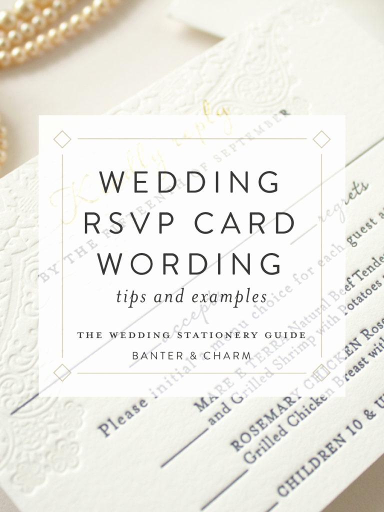 Rsvp Wedding Invitation Wording Fresh Wedding Stationery Guide Rsvp Card Wording Samples