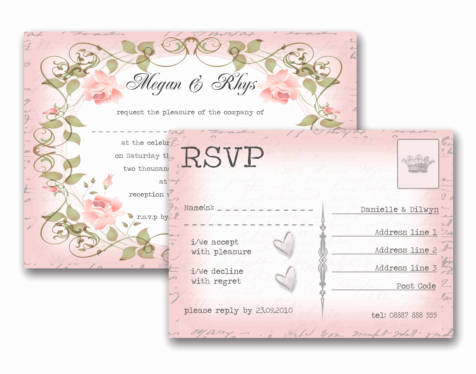 Rsvp Wedding Invitation Wording Lovely Invitations Endearing Rsvp Wedding Cards Inspirations