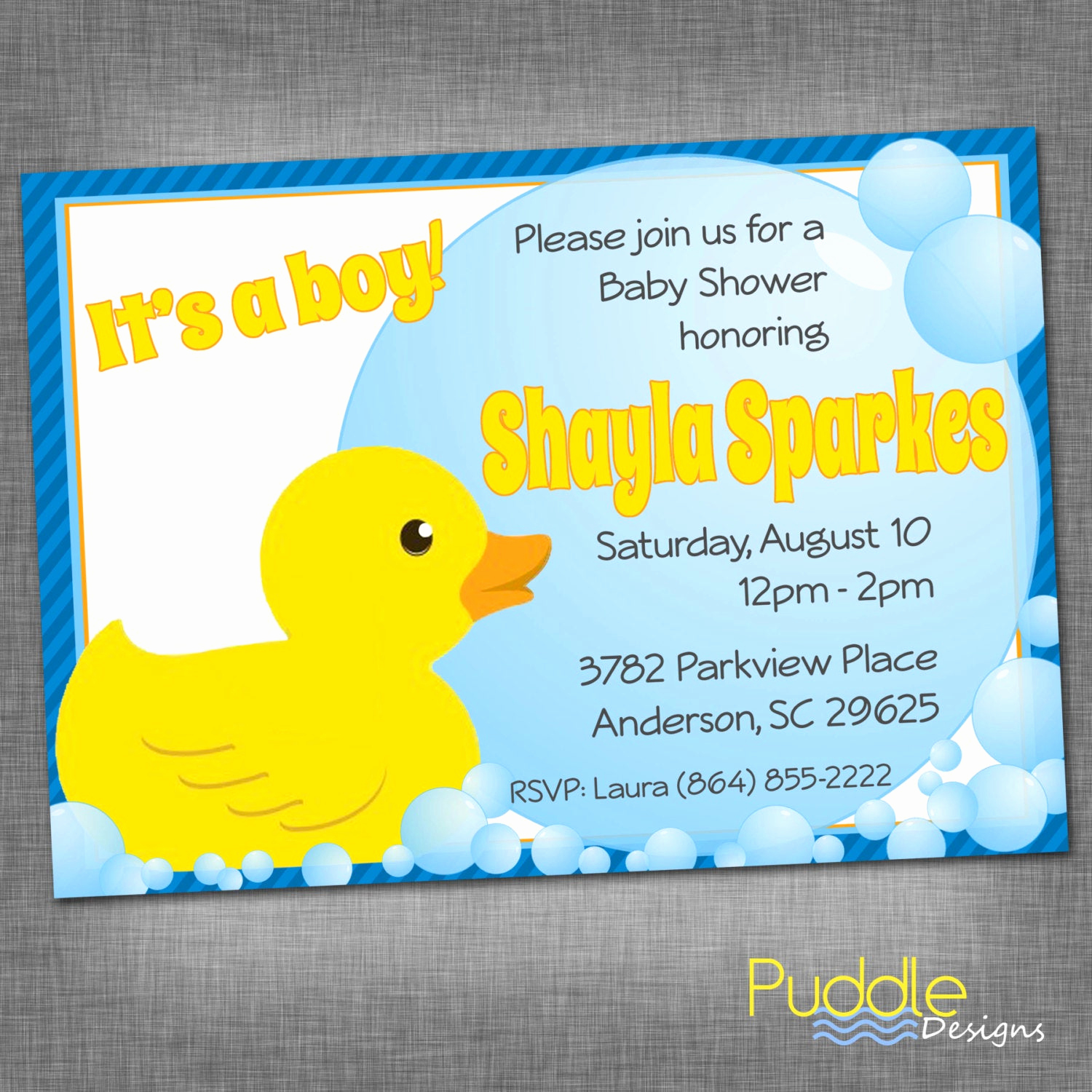 Rubber Ducky Baby Shower Invitation Fresh Rubber Ducky Baby Shower Invitation