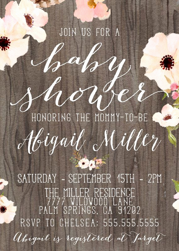 Rustic Baby Shower Invitation Awesome Best 25 Rustic Baby Showers Ideas On Pinterest