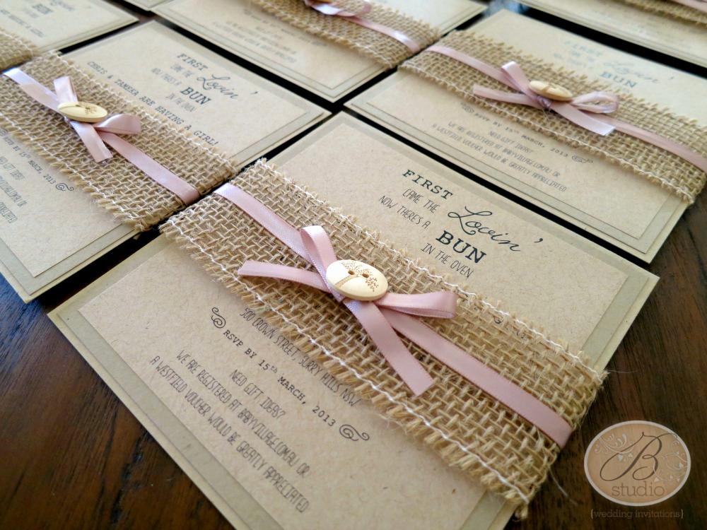 Rustic Baby Shower Invitation Best Of Baby Invitations – B Studio Wedding Invitations Style Blog