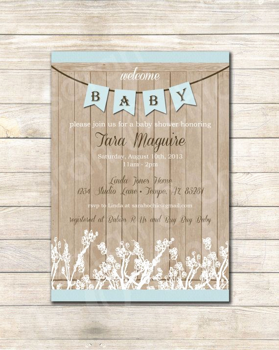 Rustic Baby Shower Invitation Inspirational 20 Best Moose Baby Shower Images On Pinterest