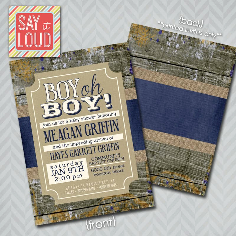 Rustic Baby Shower Invitation Lovely 25 Rustic Baby Shower Ideas Mom Resource