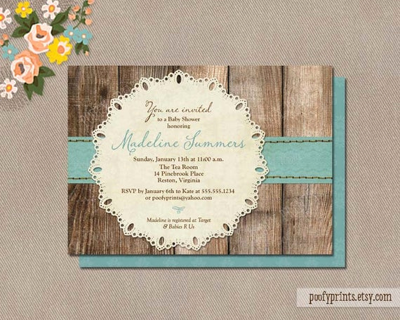 Rustic Baby Shower Invitation New Rustic Baby Boy Shower Invitations Diy Printable by