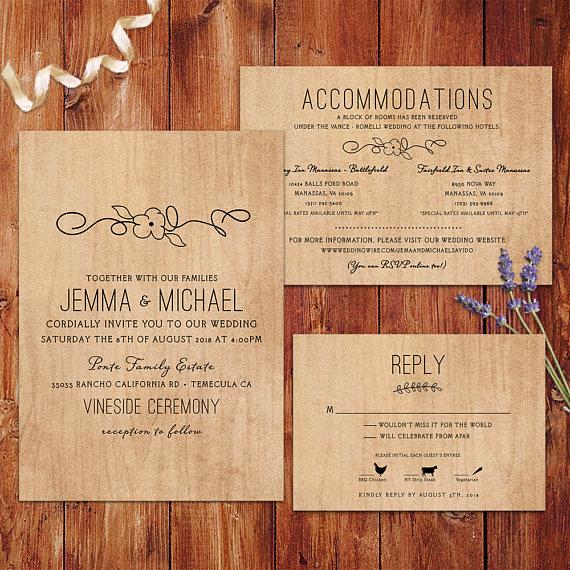 Rustic Wedding Invitation Background Beautiful Rustic Wedding Invitations Wood Background Wedding