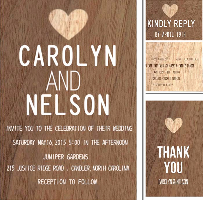 Rustic Wedding Invitation Background New Ideas Of Chic Wedding Party