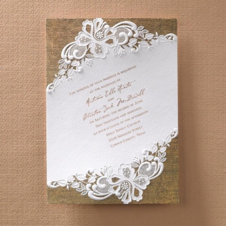 Rustic Wedding Invitation Background New Rustic Battenburg Lace Invitation