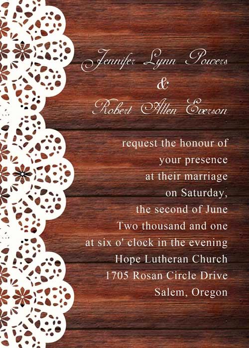 Rustic Wedding Invitation Background New Spring Flower Mason Jar String Lights Rustic Invitations