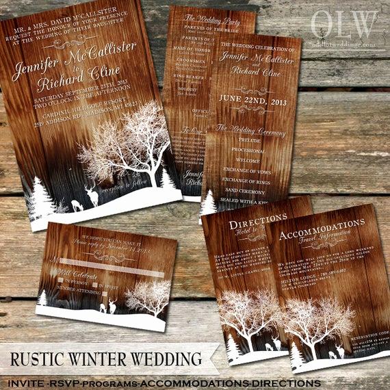 Rustic Wedding Invitation Background Unique Rustic Winter Wedding Invitations Country Winter Snow