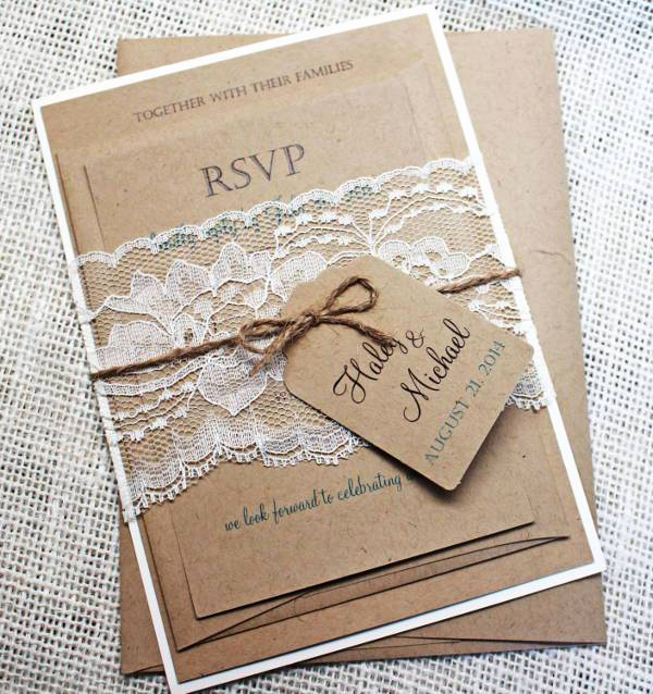 Rustic Wedding Invitation Ideas Fresh 15 Rustic Wedding Invitations Printable Psd Ai Vector