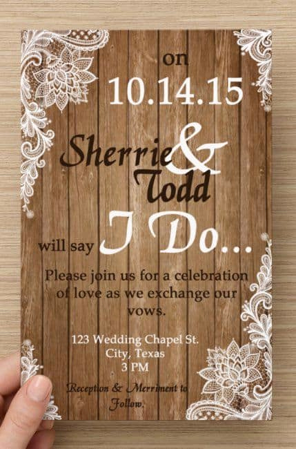 Rustic Wedding Invitation Ideas Inspirational Country Wedding Invitations Best Photos Cute Wedding Ideas