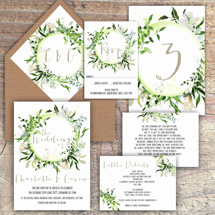 Rustic Wedding Invitation Ideas New Our Favourite Rustic Wedding Invitation Ideas