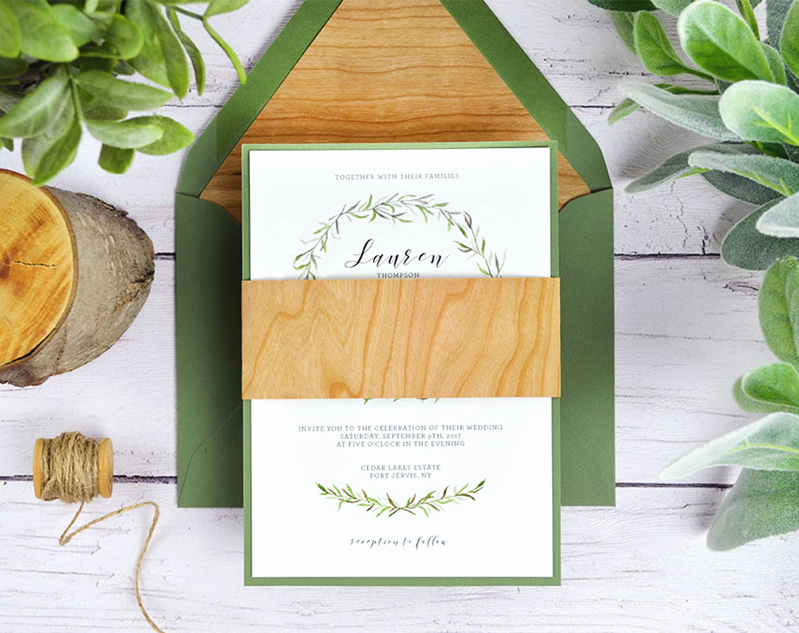 Rustic Wedding Invitation Paper Awesome 4 Ways to Diy Rustic Wedding Invitations with Wood Paper