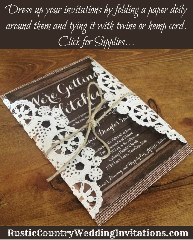 Rustic Wedding Invitation Sets Beautiful Rustic Country Wedding Invitations Rustic Wedding