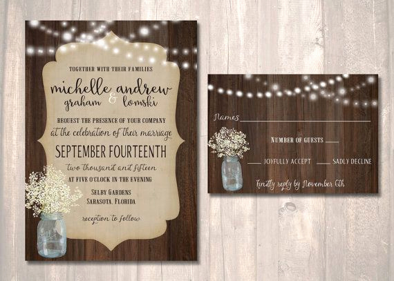 Rustic Wedding Invitation Sets Unique 9 Best Images About Wedding Invitation Wording Examples On