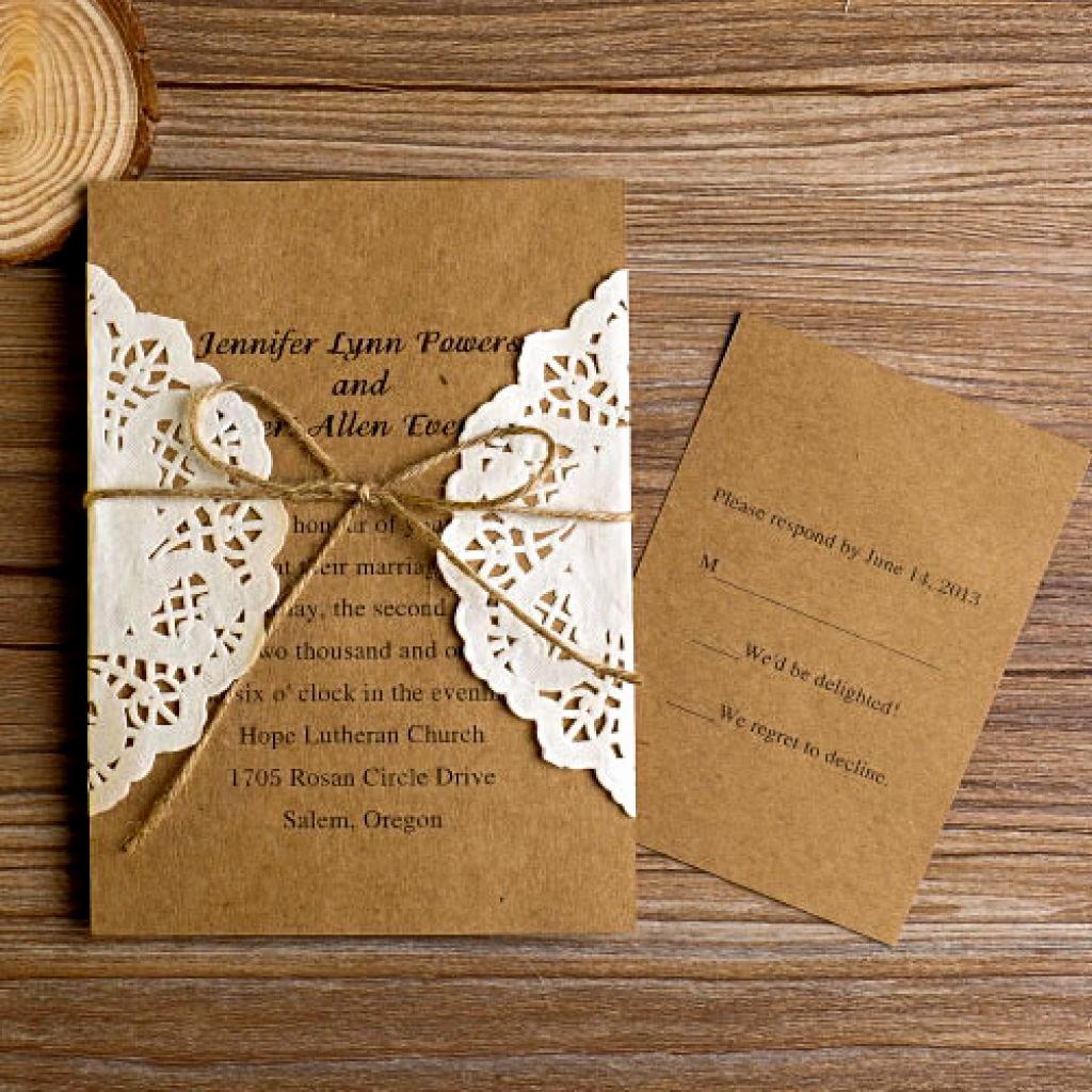 Rustic Wedding Invitation Templates Awesome Sunshinebizsolutions