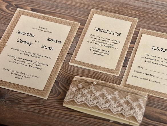 Rustic Wedding Invitation Templates Best Of 28 Rustic Wedding Invitation Design Templates Psd Ai
